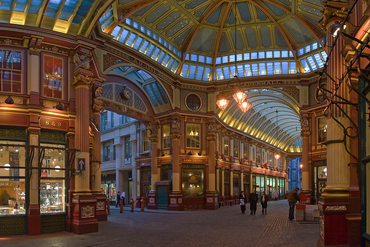 Leadenhall Market - harry potter oxford tour
