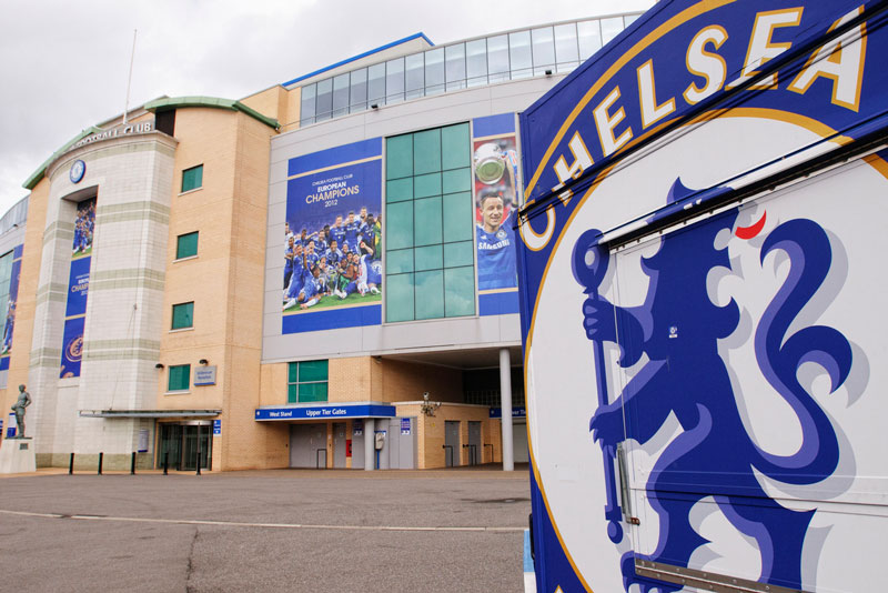 Stamford bridge Chelsea Football Stadium Tours London